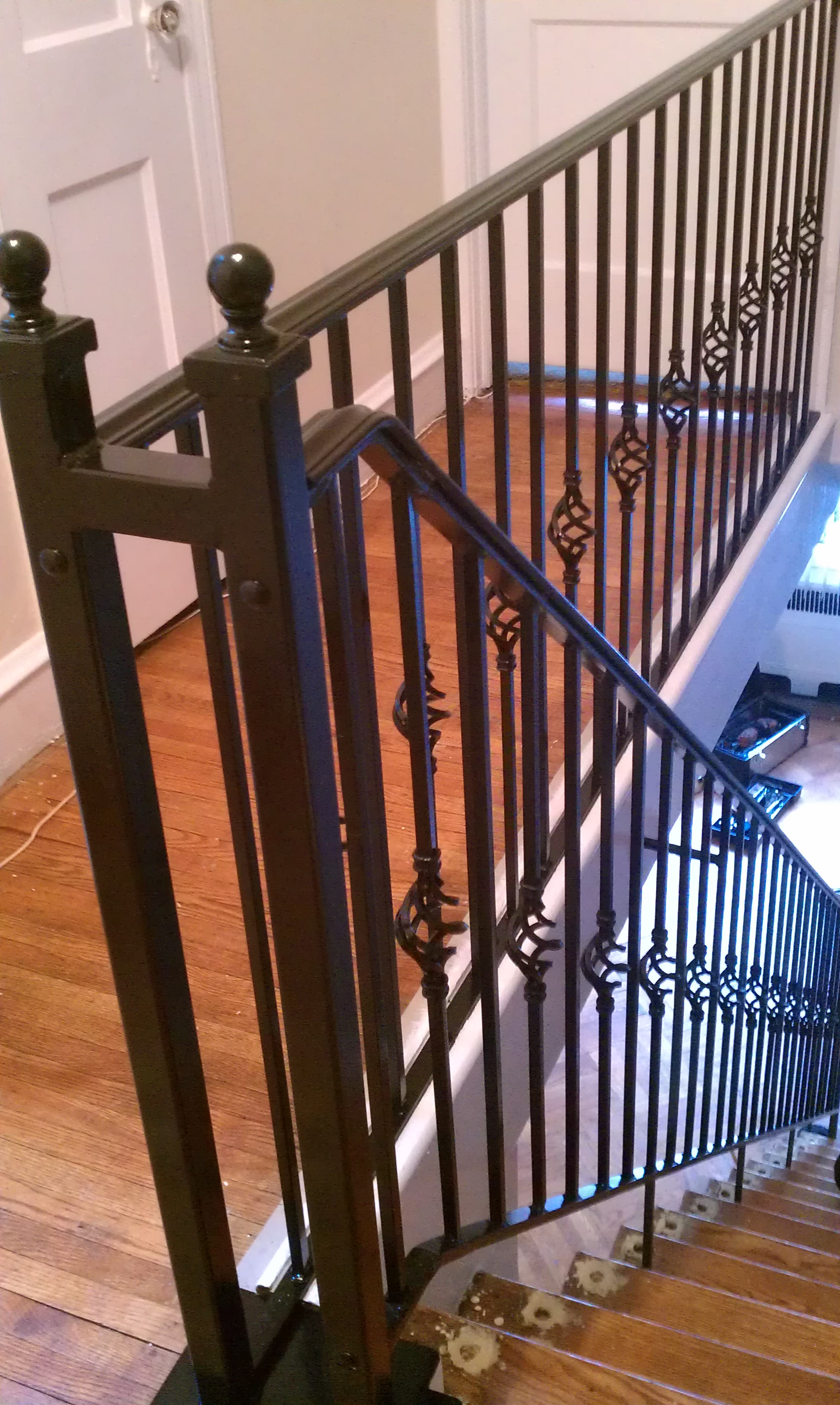 Do It Yourself Burglar Bars : Drews iron fencing services
