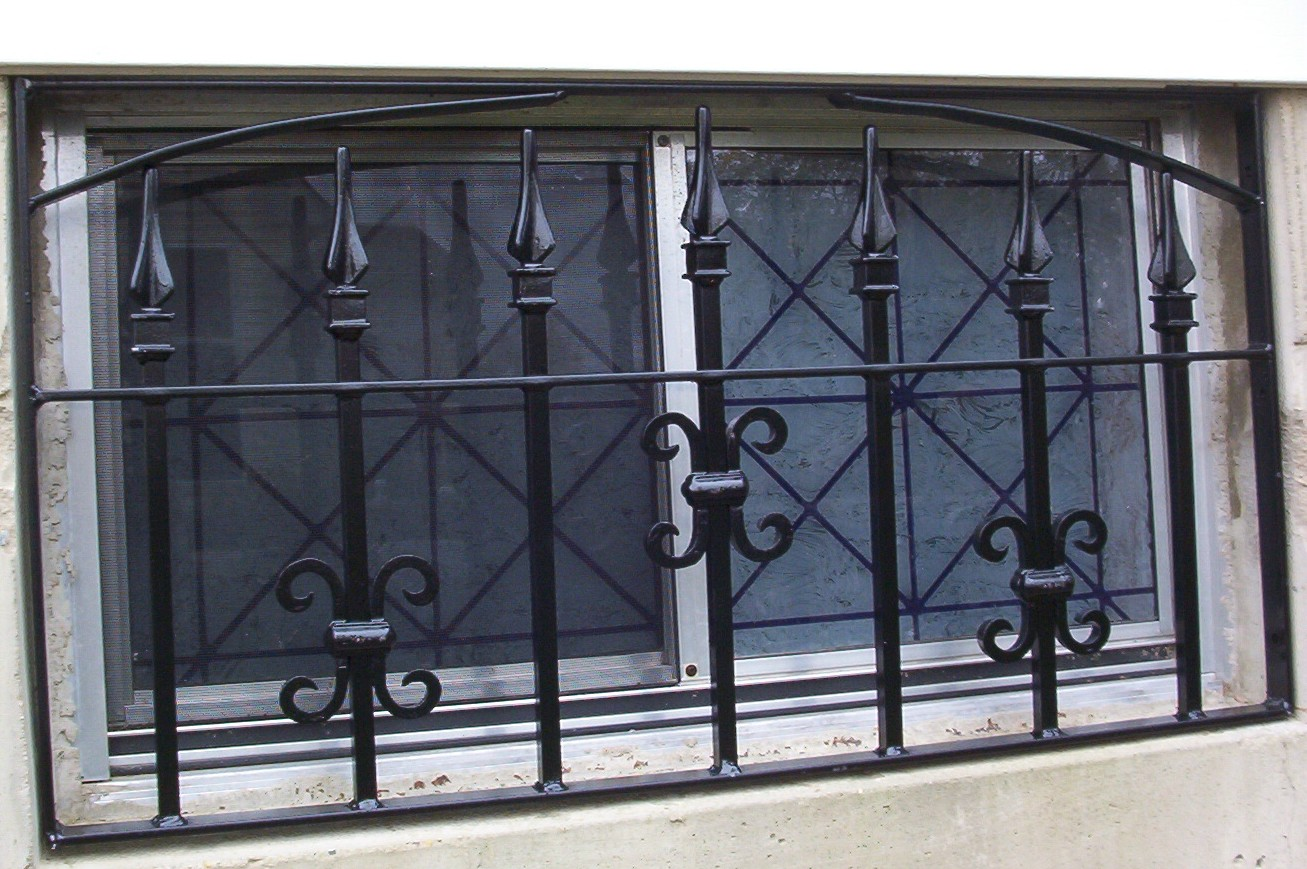 Drews Ironworks Makes Custom Window Grills To Match The Style Theme And Era Of Your Home Sometimes Called Burglar Bars Can Add Families